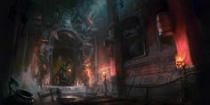 Mogwai Temple by eWKn.deviantart.com on @deviantART