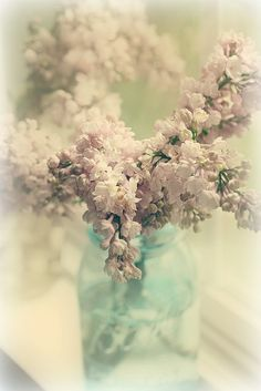 lilacs on the window sill by lucia and mapp, via Flickr