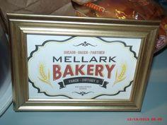 """""""Mellark"""" Bakery sign"""