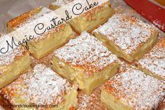 Magic Custard Cake - Hugs and Cookies XOXO