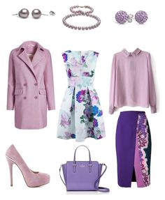 Lilac by jofobbester on Polyvore featuring polyvore mode style Closet Peter Pilotto ShoeMint Kate Spade Bling Jewelry fashion clothing