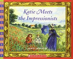 Katie Meets The Impressionists by James Mayhew http://www.amazon.com/dp/0439935083/ref=cm_sw_r_pi_dp_CNpnvb02C84ZW