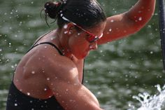 Kamini Jain, an amazing technical coach & paddler, shows us how to throw down in a badass sprint.