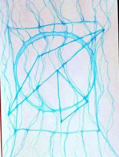 Нейрографика Голуюбой
