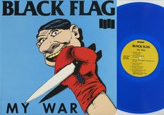 Barnes & Noble® has the best selection of Alternative American Punk Vinyl LPs. Buy Black Flag's album titled My War to enjoy in your home or car, or gift Kurt Cobain, Nirvana, Lp Vinyl, Vinyl Records, Rare Vinyl, Vinyl Music, Punk Rock, Black Flag Band, Raymond Pettibon