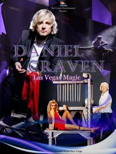 DANIEL CRAVEN August - October, 2013 Star Cruises presents a highly fascinating Las Vegas magic show incorporated with an explosive mix of dramatic illusions. Direct from Europe, witness Daniel Craven as he breaks in the mysterious world of magic by showcasing some of his most thrilling acts.