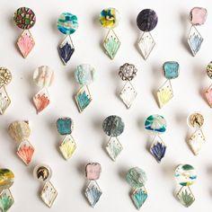 blog   布博 in 東京 vol.9 Polymer Clay Jewelry, Resin Jewelry, Jewelry Crafts, Diy Resin Art, Diy Resin Crafts, Bead Jewellery, Beaded Jewelry, Handmade Jewelry, Resin Charms