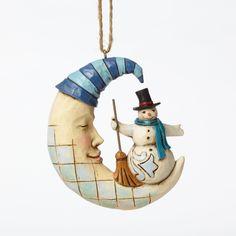 Jim Shore Heartwood Creek Ornament Collection