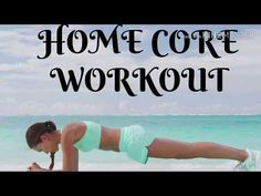 HOME CORE WORKOUT/5 MIN ABS WORKOUT/PILATES - YouTube 5 Min Ab Workout, At Home Core Workout, 5 Min Abs, Fitness Pics, Workout Pictures, Pilates, Exercise, How To Plan, Youtube