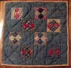 Small primitive quilt...
