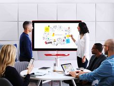 Google Jamboard Is a Huge 4K Screen You Can Scribble On