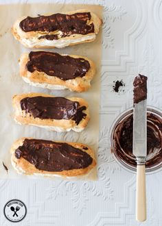 Coffee Cream Eclairs | 23 Incredible Coffee Desserts