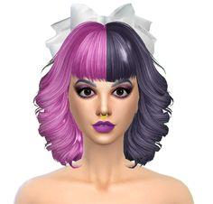 TsminhSims' Alison (Hair 18) Sims 4 Hair (Females
