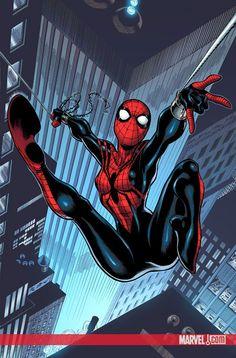 #Spectacular #Spider #Girl #Fan #Art. (Spectacular Spider-Girl: Who killed Gwen #1 Cover) By: RON FRENZ. (THE * 5 * STÅR * ÅWARD * OF: * AW YEAH, IT'S MAJOR ÅWESOMENESS!!!™)[THANK Ü 4 PINNING!!!<·><]<©>ÅÅÅ+(OB4E)