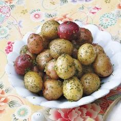 Easter recipes: New Potatoes with Parsley Butter