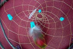 DREAM CATCHER / METAPHYSICAL / Natural by WhiteWolfeNativeArts, $10.00