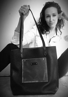 Excited to share this item from my #etsy shop: Black leather tote, tote bag, Grey, leather handbag, shoulder bag, handmade, designer, messenger #leather #studiokoak #tote #grey #black #cowhide Black Leather Tote, Leather Handbags, Shoulder Bag, Tote Bag, Grey, Handmade, Gray, Leather Purses, Carry Bag