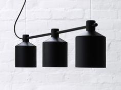 Zero Silo Trio Pendant Light