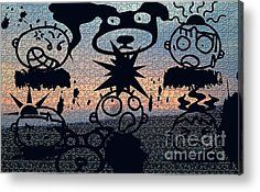 Anger And Apathy Metal Print by Tina M Wenger