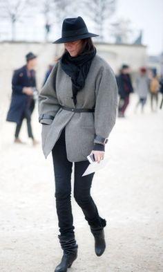 French Vogue editor Emmanuelle Alt