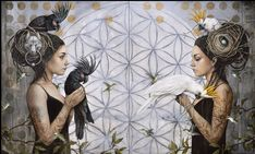 Realism Artists, Magic Realism, Modern Artists, Divine Feminine, Fractal Art, Oeuvre D'art, Cool Drawings, Lany, Painting & Drawing