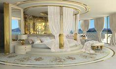 Ladies-Your yacht awaits! http://goo.gl/e0ZKXO La Belle Concept Yacht by Lidia Bersani Luxury Design #LaBelle #Yacht #LidiaBersani