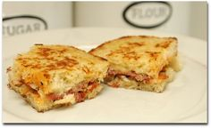 grilled pressed italian sandwich