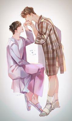 Jikook, K Pop, Seokjin, Namjoon, Fanfic Namjin, Sapo Meme, Bts Texts, Vkook Fanart, Bts Drawings
