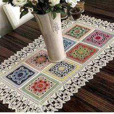 color-motif-is-motifs ranna – crochet pattern Motifs Granny Square, Crochet Square Patterns, Crochet Motifs, Crochet Borders, Crochet Mandala, Doily Patterns, Crochet Squares, Granny Squares, Crochet Doilies