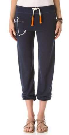 Fell in love.....and then I saw the price! :0 SUNDRY Anchor Sweatpants | SHOPBOP