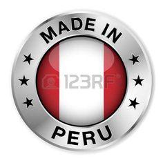 Hecho en Perú. Insignia de plata...