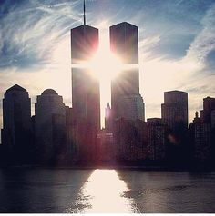 Twin Towers/ World Trade Center- New York City, New York World Trade Center, Trade Centre, 11 September 2001, Tower Falling, We Will Never Forget, Don't Forget, Home Of The Brave, We Are The World, Pearl Harbor