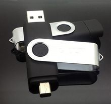 USB OTG flash drive for android mobile phone enlarging the capacity