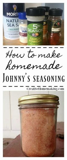 If your family loves Johnny's seasoning salt then give this easy MSG-free recipe a try. If your family loves Johnny's seasoning salt then give this easy MSG-free recipe a try. Homemade Dry Mixes, Homemade Spice Blends, Homemade Spices, Homemade Seasonings, Spice Mixes, Homemade Gifts, Seasoning Salt Recipe, Homemade Fajita Seasoning, Seasoning Mixes