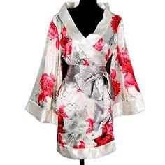 Shanghai Tone® Kimono Robe Yukata Nightie Sleepwear Floral-White Bedroom One Size Shanghai Tone http://www.amazon.com/dp/B0057MUU8S/ref=cm_sw_r_pi_dp_2d5fub05QZZMW
