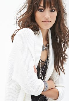 Open-Front Dolman Cardigan | FOREVER21 - 2000067014