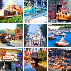 Disney Avenue: Vintage Disneyland Park Pictures