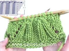 DROPS Knitting Tutorial: How to work chart A.1 in DROPS 165-30