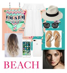 """Miami 🏝🏖🏝"" by magui005 on Polyvore featuring moda, Forever 21, Tory Burch, Hollister Co., Prada y Burberry"