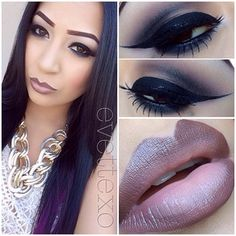 Nude, Ombre lips