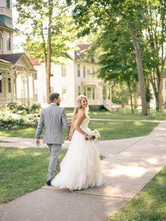 bride & groom portrait   Bay View Michigan Wedding Photography