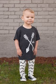 House of Mia leggings are the perfect edition to your little ones wardrobe. Perfect paired with @Rebecca Kahler Apparel arrow tee!