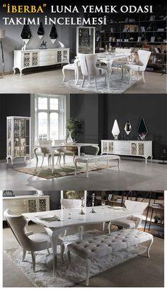 En yeni mobilya incelemesini İnegöl'ün seçkin markalarından İberba Mobilya'nın Luna Yemek Odası Takımı ile devam ettiriyoruz.