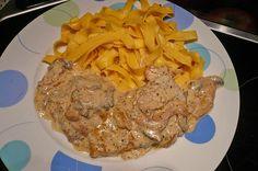 Andis Creme fraiche - Schnitzel