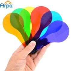 6pcs Arpa Six Color Tablets Children Learn Early Color Toys 6 Pieces Kindergarten Montessori Teaching Aids
