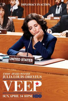 Veep (HBO) - my new obsession. Love it. Absolutely hilarious! Just binge-watched season 2