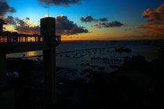 Elevador Lacerda - Salvador, Bahia - (via rainy-days-and-mondays)