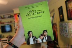 the perks of being a wallflower. ♡ loved this book.