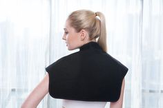 heated back and shoulder pad Portable Heating Pad, Shoulder Pads, Usb, Closure, Simple, Model, Walmart, Stuff To Buy, Display