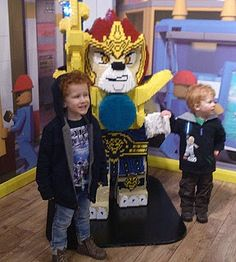 The Brick Castle: Lego Chima 4D Movie at the Lego Discovery Centre